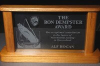 Ron Dempster Award Small